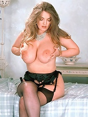 Big Titted European Sweetie Inserting Her Dill Doll Up Her Glory-hole.